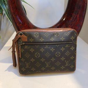 Authentic Louis Vuitton monogram Sports clutch bag